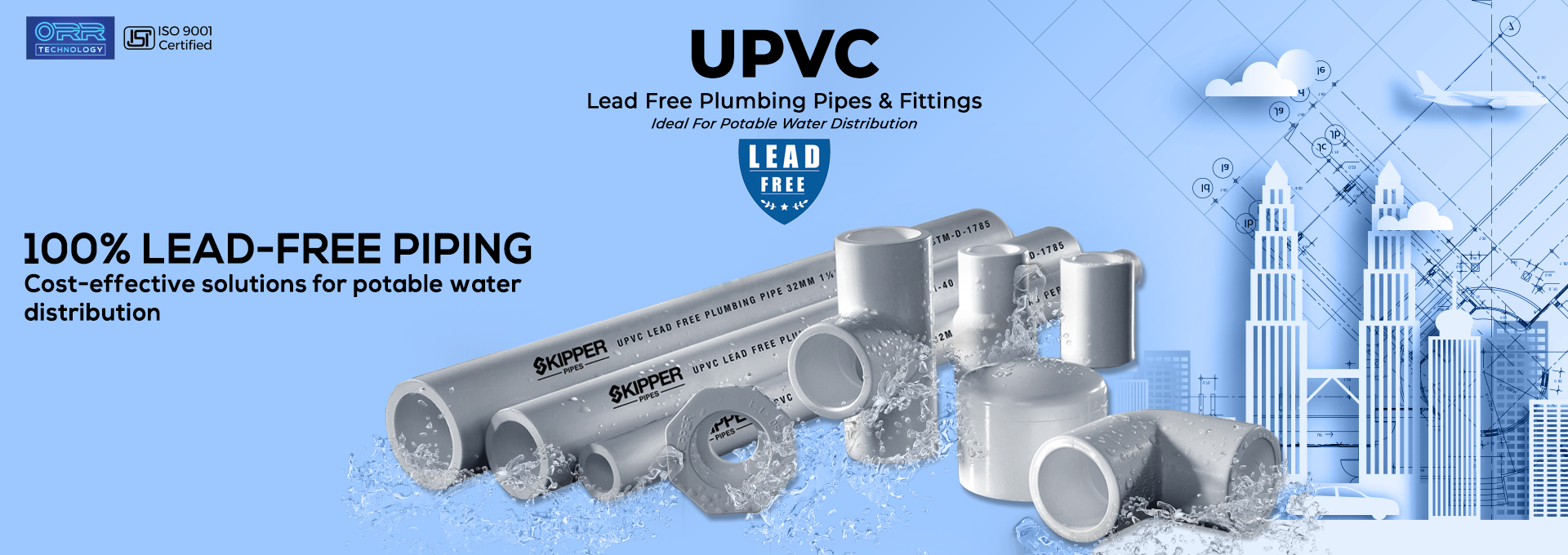 Plumbing Pipes and Fittings - Skipper Pipes